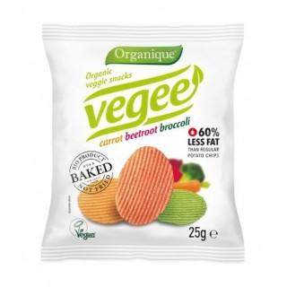 Chipsy warzywne Bezgl. Bio 25g Vegee - [Organique]