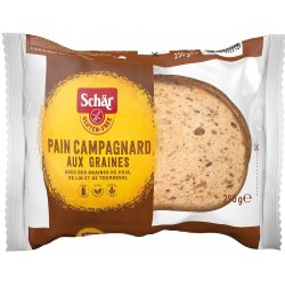 Pain Campagnard aux graines - chleb wieloziarnisty Bezgl. 250g - [Schar]