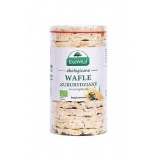 Wafle kukurydziane z solą Bezgl. Bio 110g - [EkoWital]