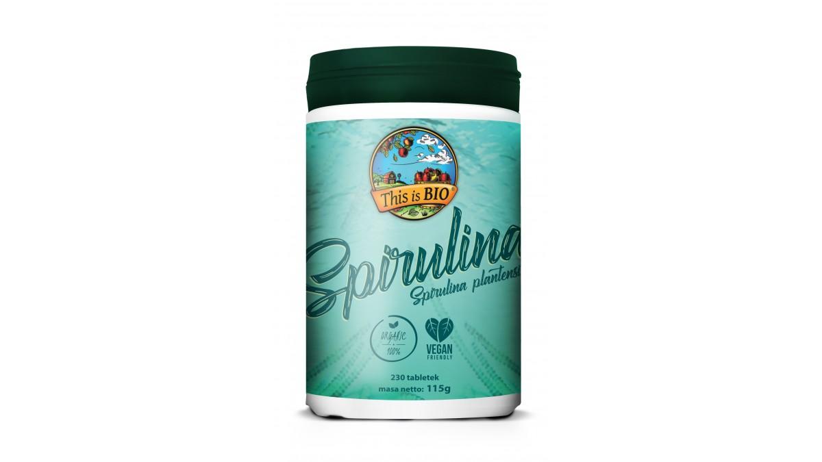 SPIRULINA 100% ORGANIC - 230tabl [This is BIO®]