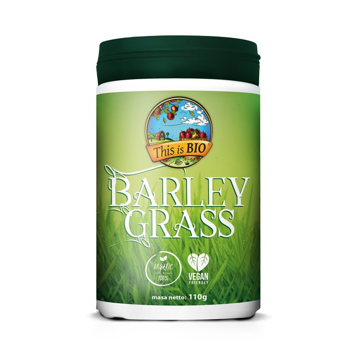 BARLEY GRASS 100% ORGANIC - 110g [This is BIO®]