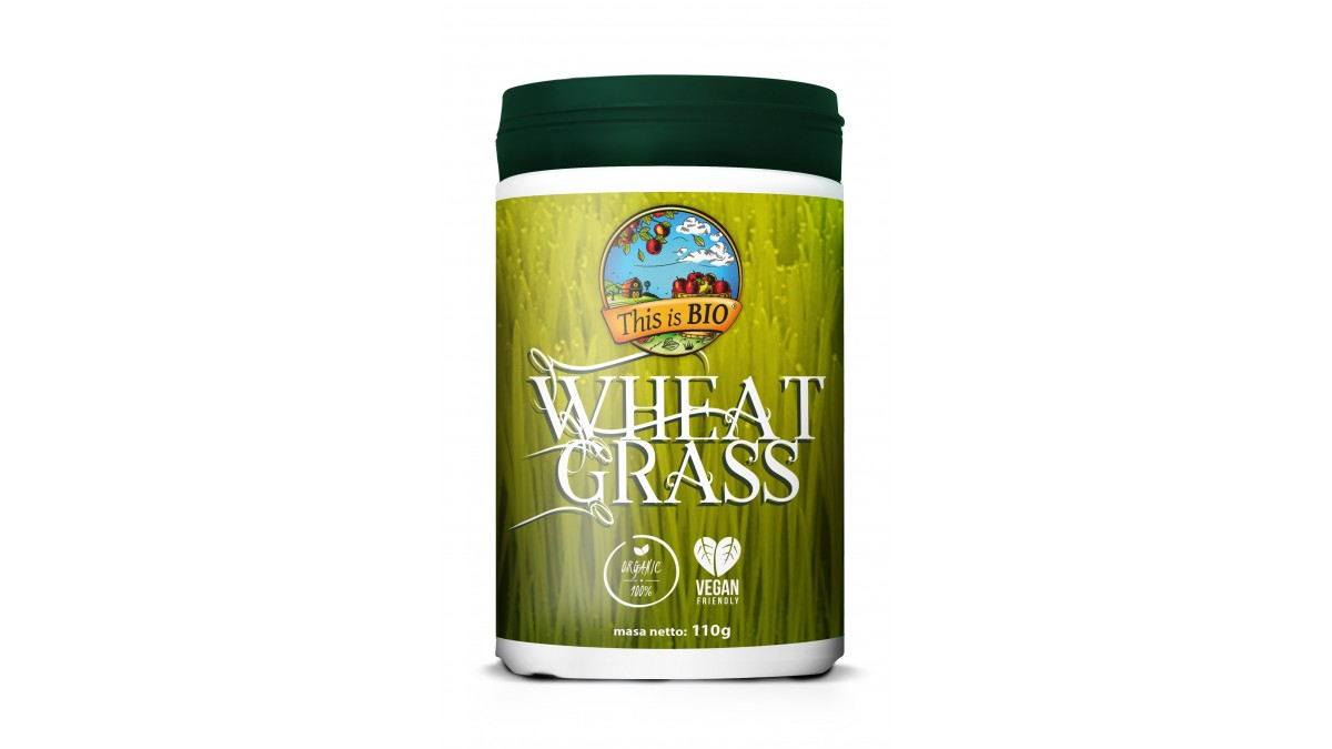 WHEAT GRASS 100% ORGANIC - 110g [This is BIO®]