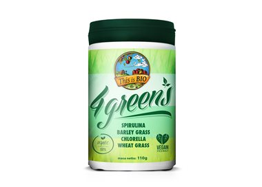 4GREENS 100% ORGANIC - 110g [This is BIO®]