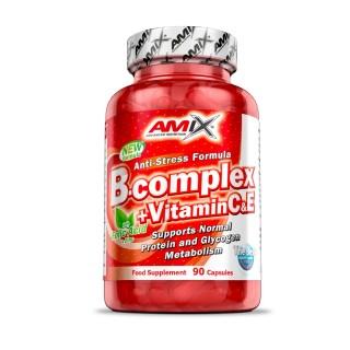 B-COMPLEX +VITAMIN C&E - 90kaps [Amix]