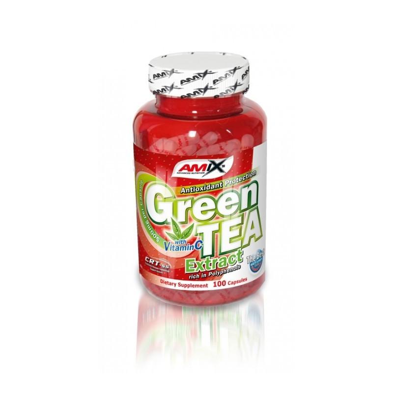 GREEN TEA EXTRACT - 100kaps [Amix]
