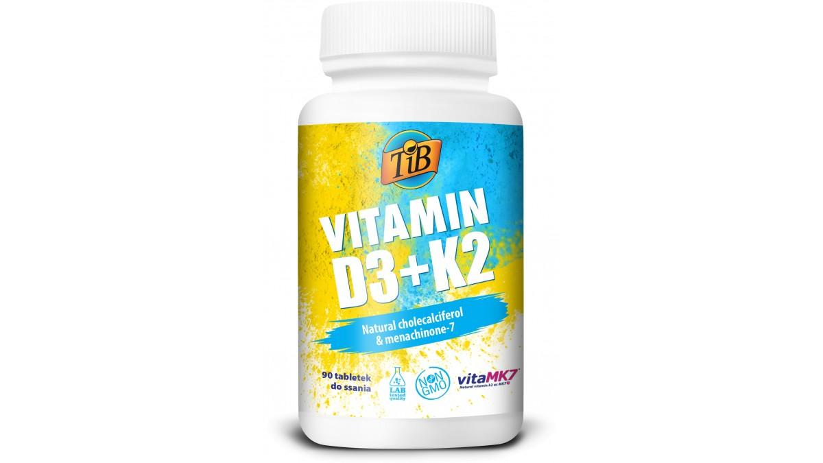 VITAMIN D3+K2 - 90tabl [TiB®]
