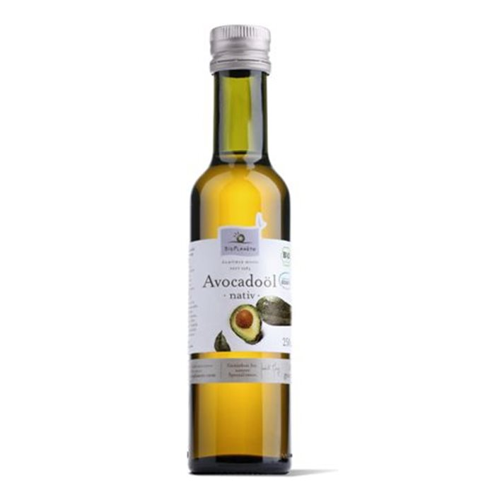 OLEJ Z MIĄŻSZU AVOCADO VIRGIN BIO - 250ml [Bio Planete]
