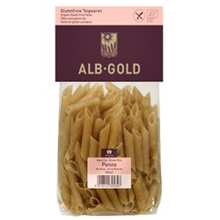 MAKARON PENNE Z RYŻU BRĄZOWEGO BIO - BEZGLUTENOWY 250g [Alb Gold]