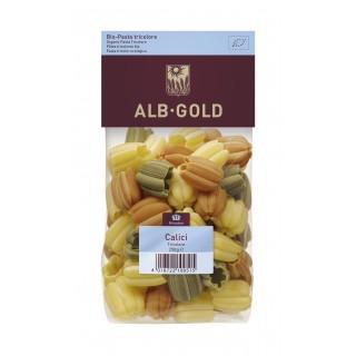 MAKARON CALICI (TULIPAN) TRÓJKOLOROWY (SEMOLINA) BIO - 250g [Alb Gold]