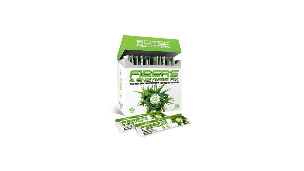 FIBERS & ENZYMES RX - 30 saszetek 8,5g (255g) [Scitec]