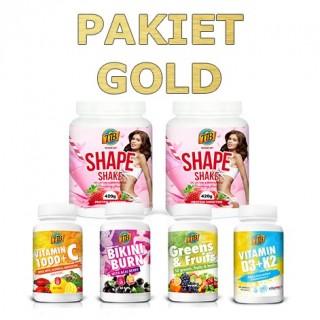 Pakiet GOLD programu Jem i Chudnę. smak: 2x truskawka