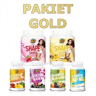 Pakiet GOLD programu Jem i Chudnę. smak: truskawka, wanilia