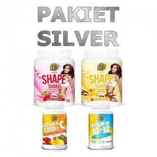 Pakiet SILVER programu Jem i Chudnę. smak: truskawka, wanilia
