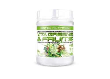 VITA GREENS & FRUITS - 360g [Scitec]
