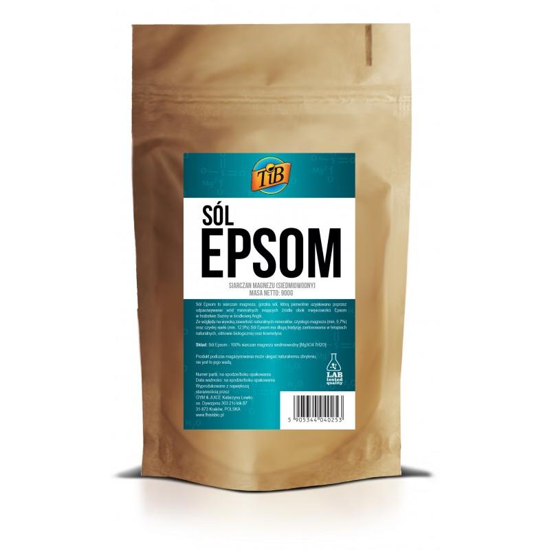 SÓL EPSOM (SIARCZAN MAGNEZU) - 900g [TiB®]