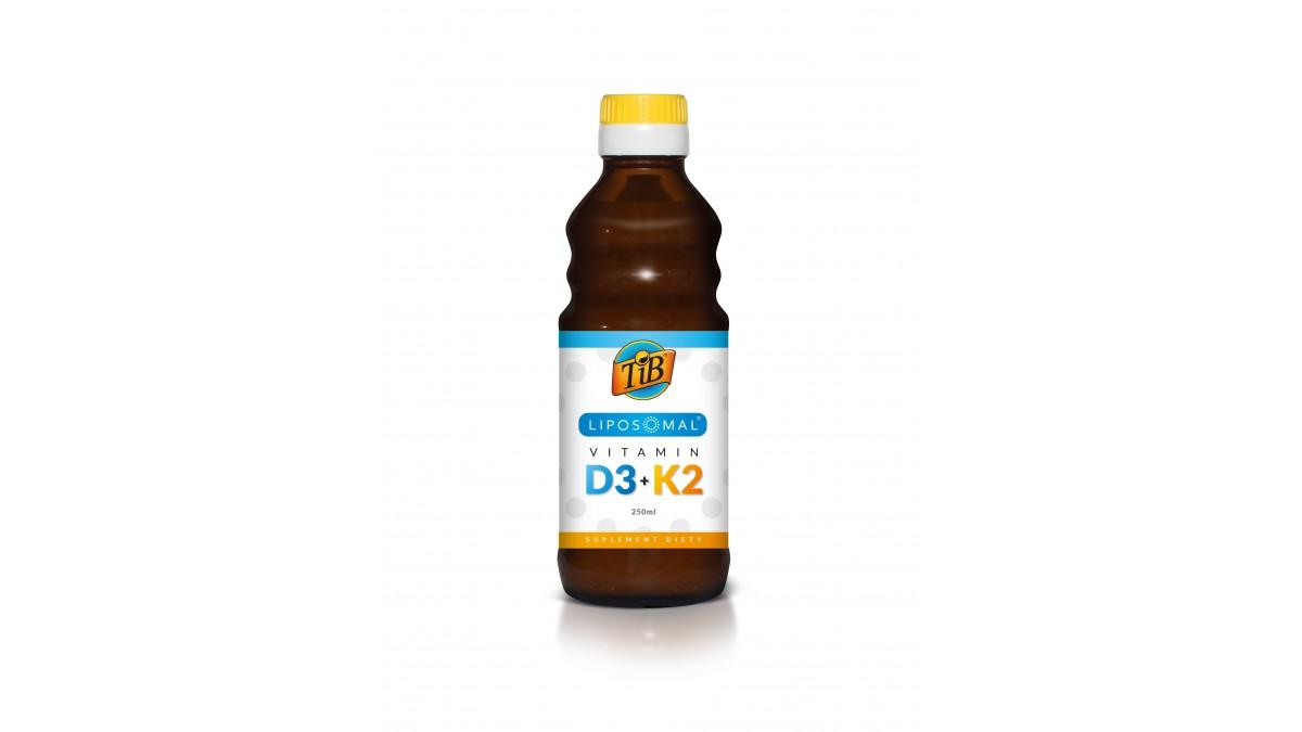 LIPOSOMAL VITAMIN D3+K2 - 250ml [TiB®]