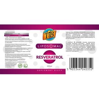 LIPOSOMAL RESVERATROL - 100ml [TiB®]