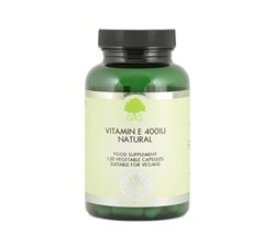 VITAMIN E 400IU NATURAL (BURSZTYNIAN) - 120kaps [G&G]