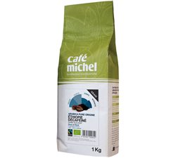 KAWA ZIARNISTA BEZKOFEINOWA ARABICA ETIOPIA FAIR TRADE BIO - 1kg [Cafe Michel]