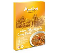 PASTA CURRY INDIAN TIKKA MASSALA BIO - 80g [Amaizin]
