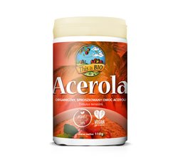 ACEROLA 100% ORGANIC - 110g [This is BIO®]