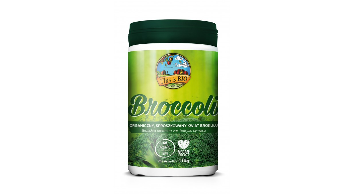 BROCCOLI (BROKUŁ) 100% ORGANIC - 110g [This is BIO®]