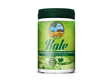 KALE (JARMUŻ) 100% ORGANIC - 110g [This is BIO®]