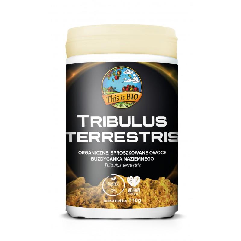 TRIBULUS TERRESTRIS (BUZDYGANEK NAZIEMNY) 100% ORGANIC - 110g [This is BIO®]