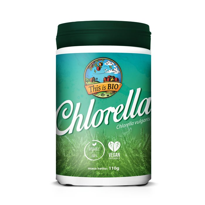 CHLORELLA 100% ORGANIC - 110g [This is BIO®]
