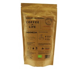KAWA 100% ARABICA ZIARNISTA INDONEZJA BIO - 200g [Ale Eko Cafe]