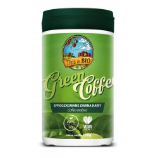 PRZECENA: GREEN COFFEE 100% ORGANIC - 170g [This is BIO®] 31/12/2021