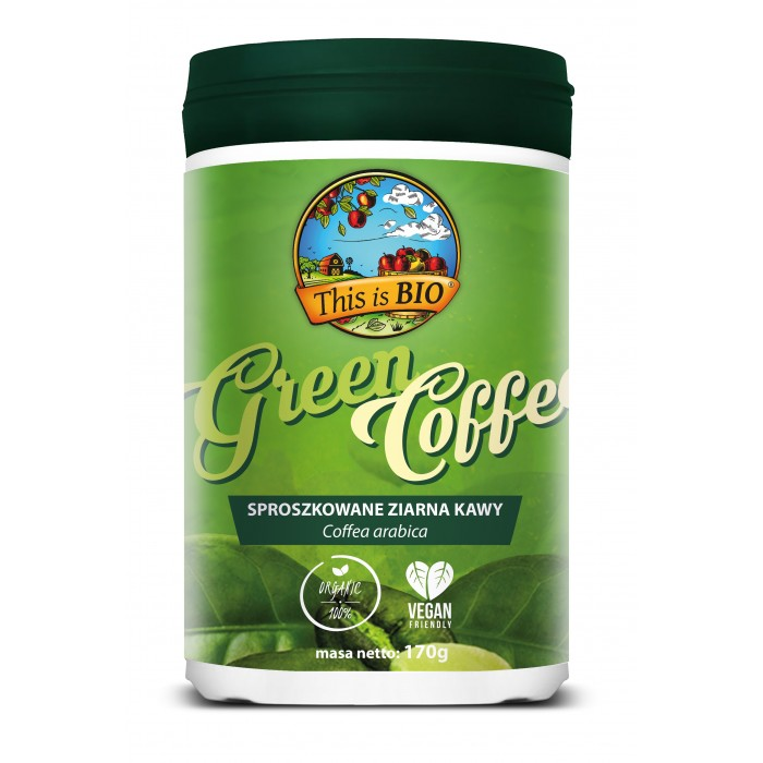 GREEN COFFEE 100% ORGANIC - 170g [This is BIO®]