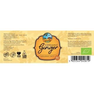 GINGER (IMBIR) 100% ORGANIC - 60kaps [This is BIO®]