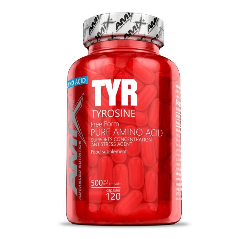 TYROSINE - 120kaps [Amix]