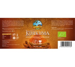 KURKUMA 100% ORGANIC - 110g [This is BIO®]