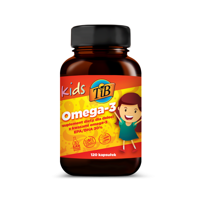 KIDS OMEGA-3 - 120kaps [TiB®]