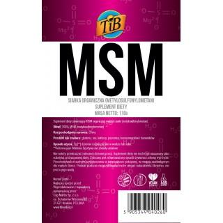 MSM (SIARKA ORGANICZNA) - 110g [TiB®]