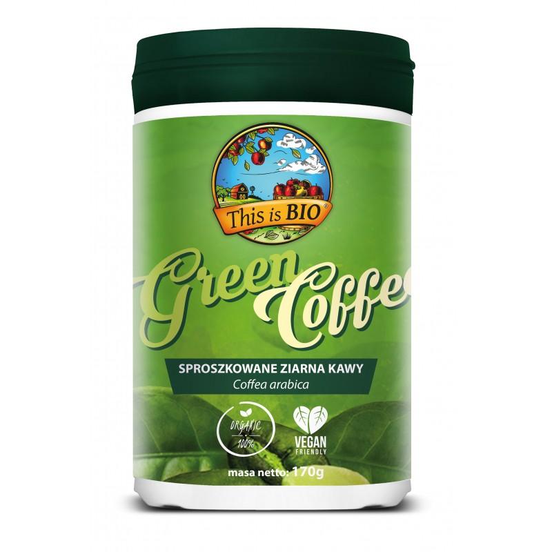 PRZECENA: GREEN COFFEE 100% ORGANIC - 170g [This is BIO®] 03-01-2021