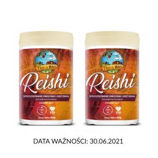 1+1 REISHI 100% ORGANIC - 80g [This is BIO®]