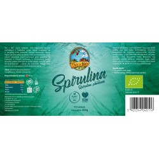 SPIRULINA 100% ORGANIC - 410tabl [This is BIO®]