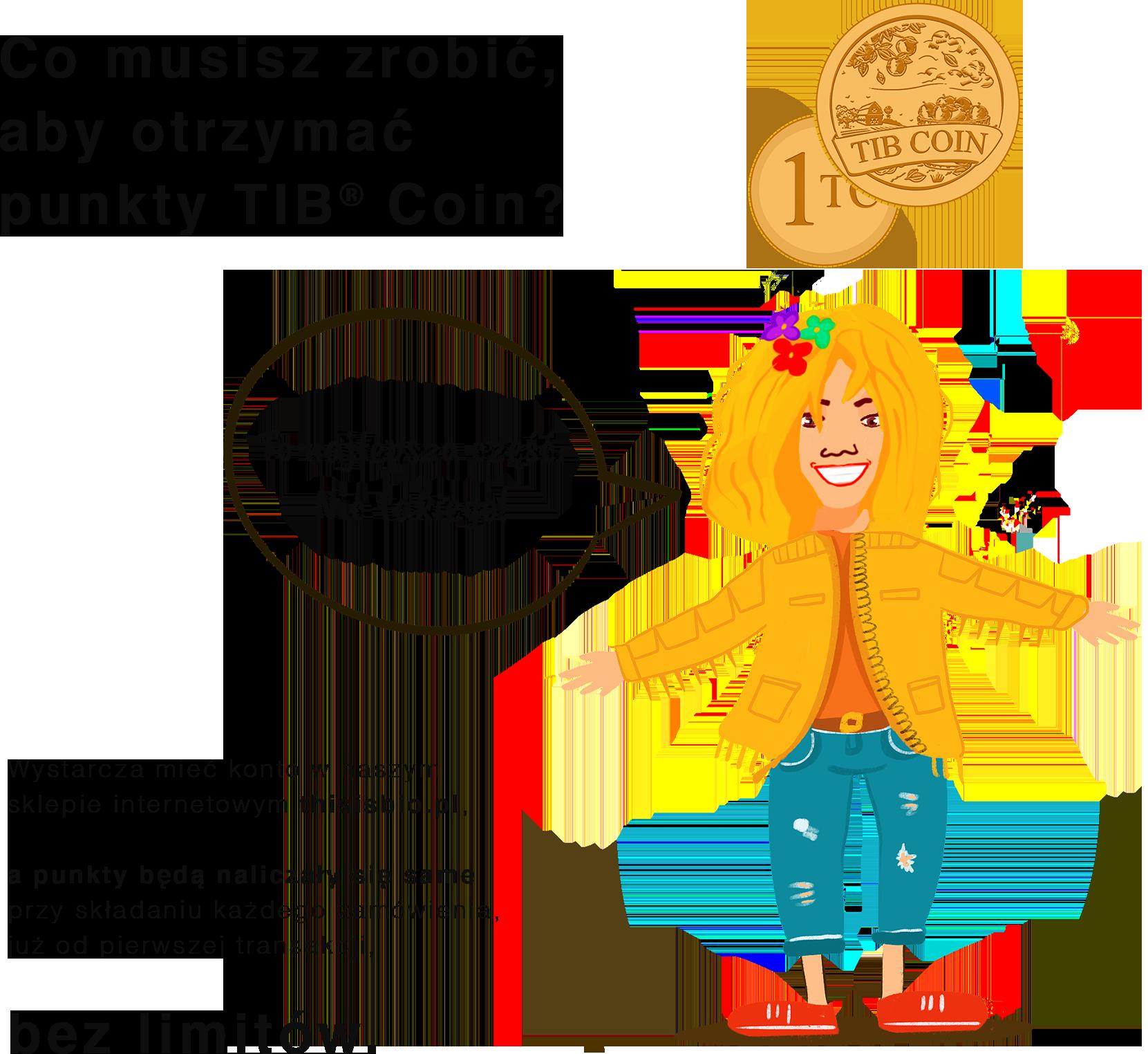 TIB Coin zasady przyznawania