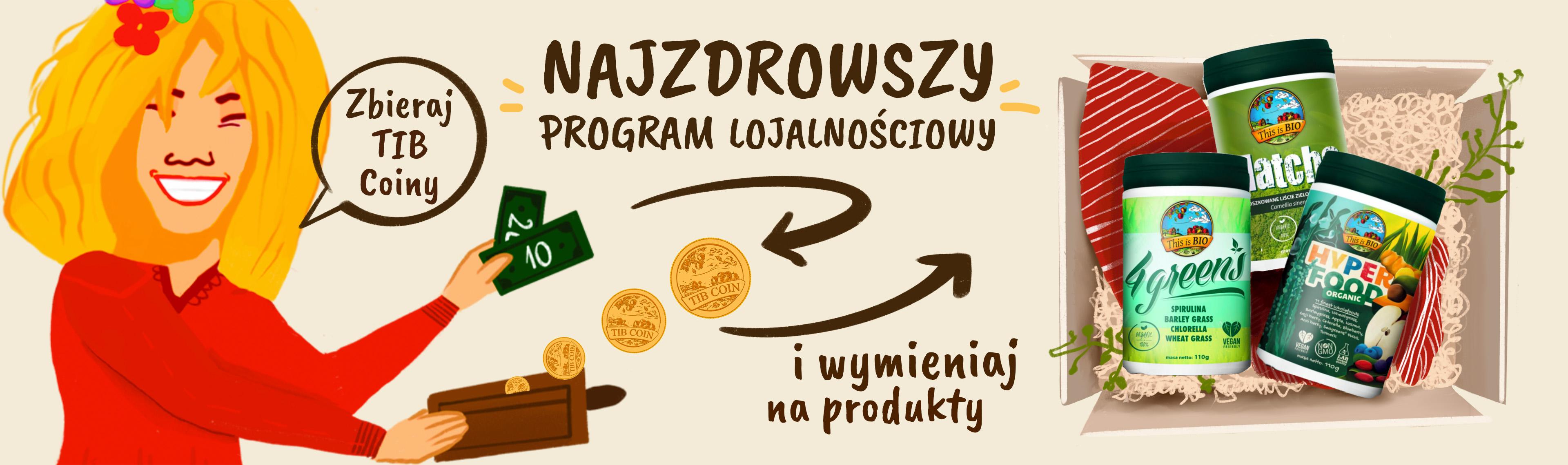 TIB Coin najzdrowszy program lojalnościowy